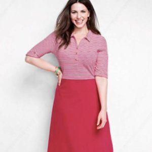 NWOT Lands' End Color-Block Knit Dress
